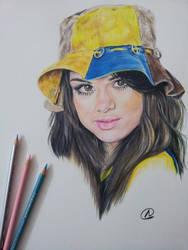 Selena Gomez by akshay-nair