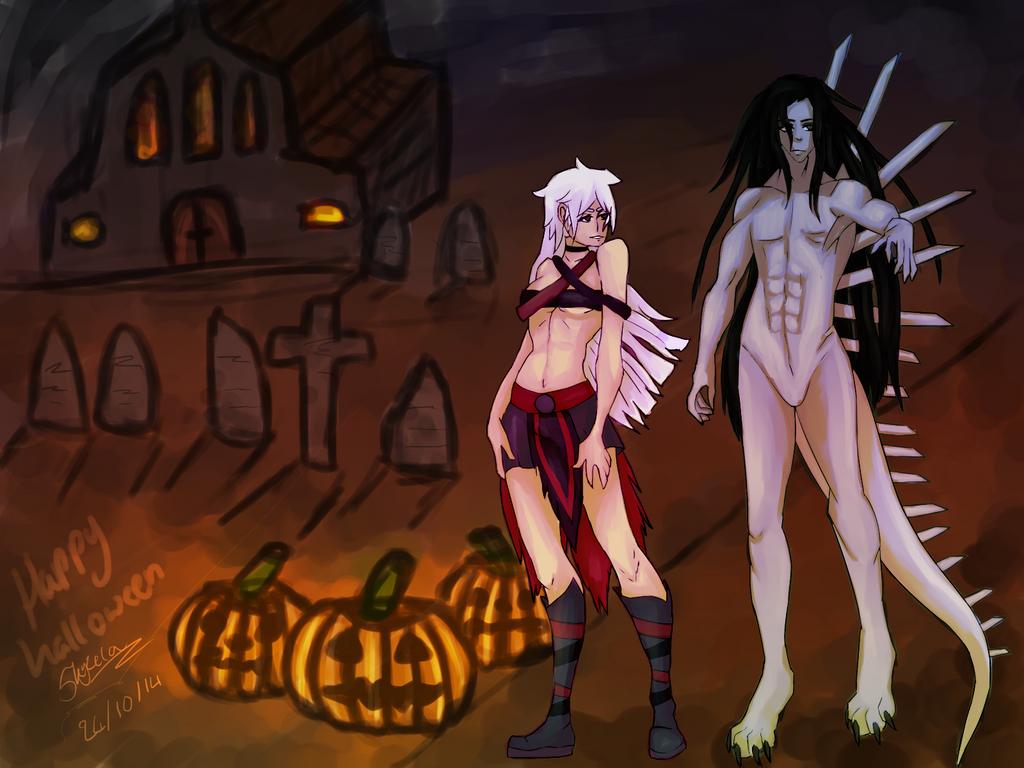 Happy halloween by Skyzela