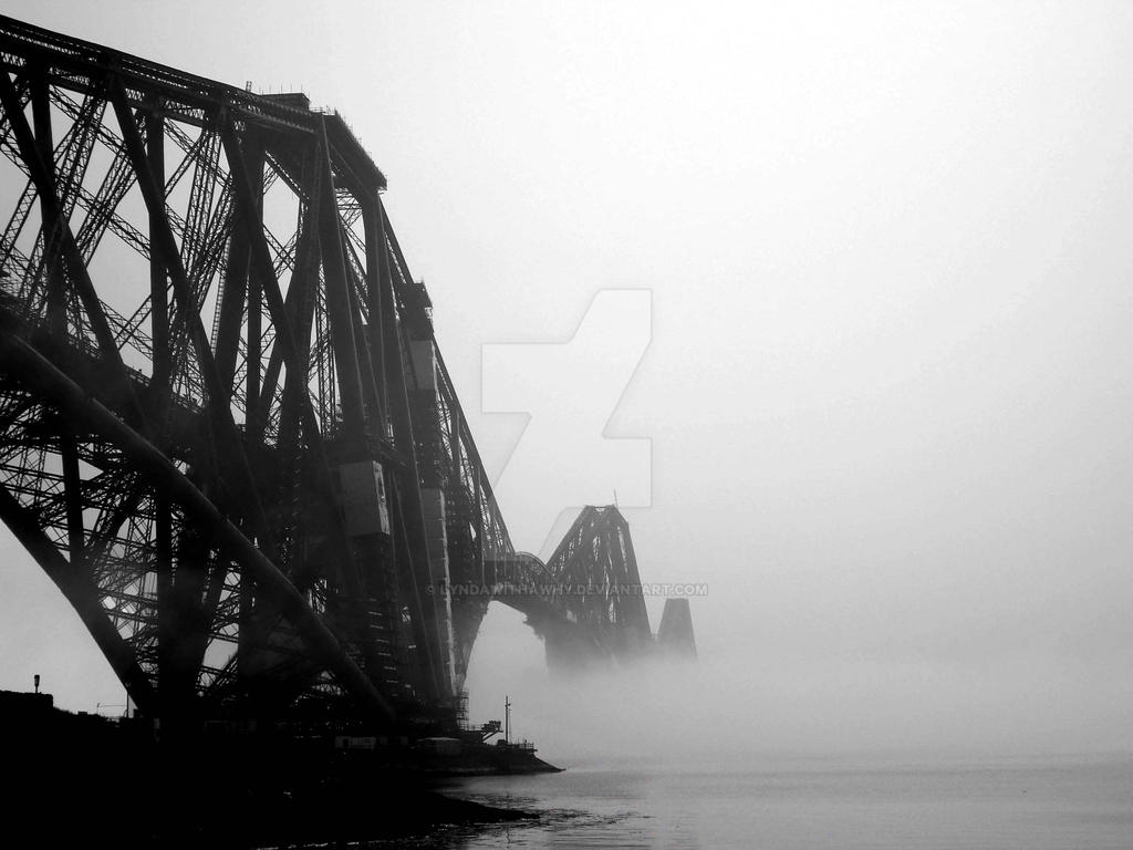 Famous Forth Rail Bridge by LyndaWithaWhy