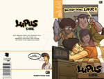 Final Project - 'LUPUS KOMIK' Comic Book Cover