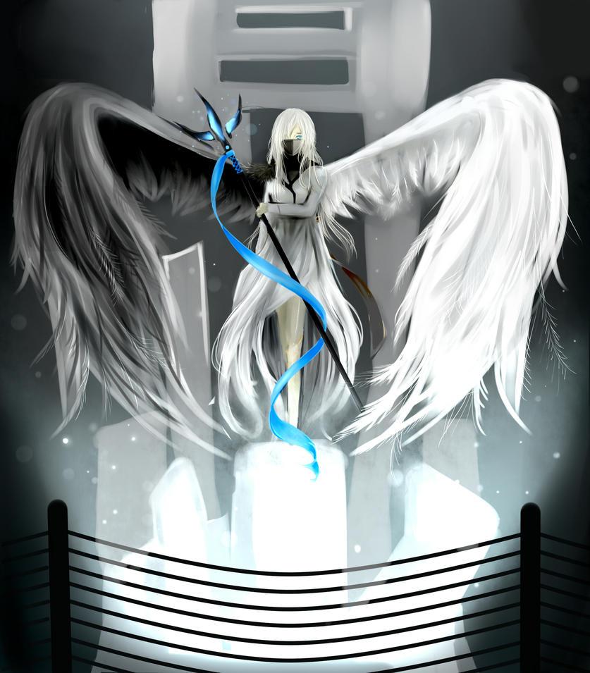 hybrid angel by omfgakei