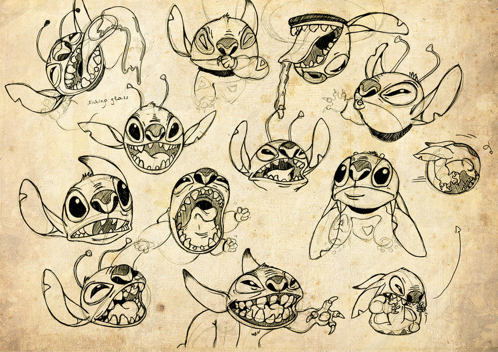 Stitch Studies by Melody68