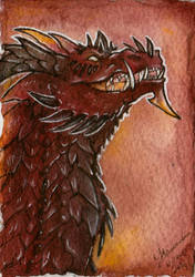 Inferno ACEO