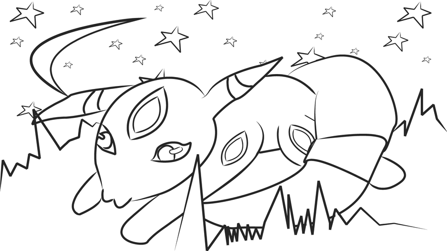 Chibi Eevee Coloring Pages Coloring Pages