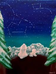 Ursa Constellations by Panda-Paradise