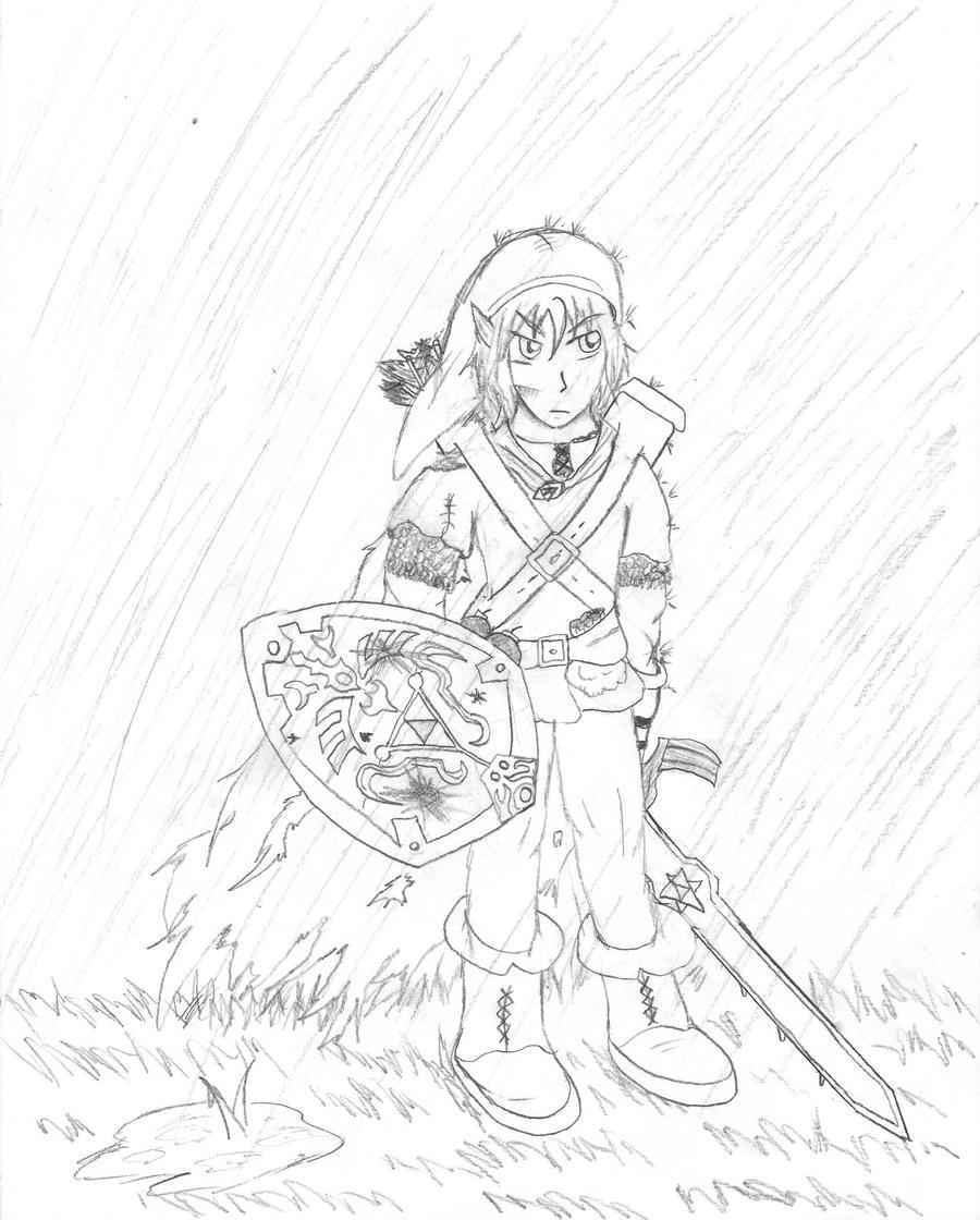 Legend of Zelda: -Adult- Link by ~LionheartXIII on deviantART