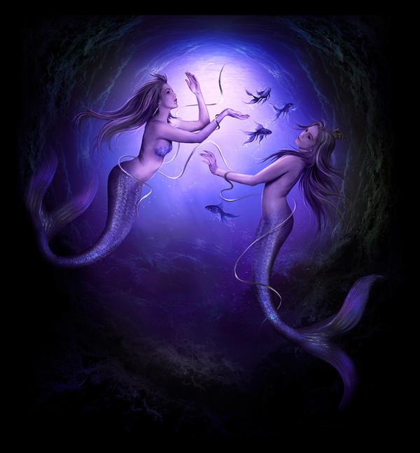 The mermaids by ElenaDudina