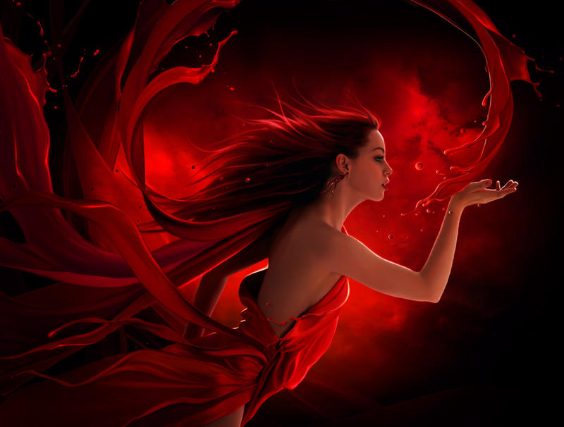 Red splash by ElenaDudina