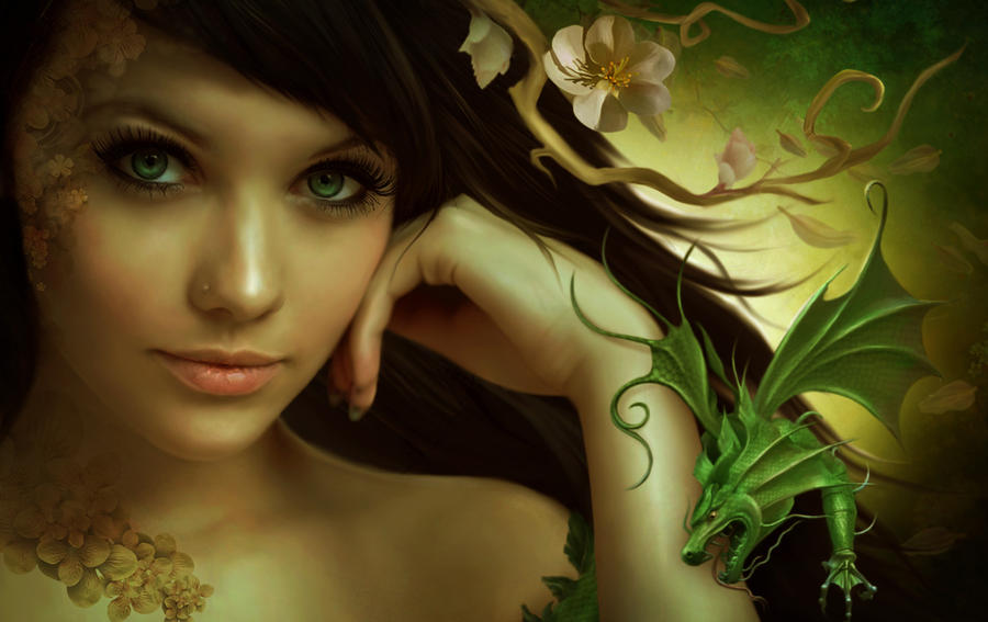 Oriental fantasy by ElenaDudina