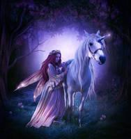 Unicorn by ElenaDudina