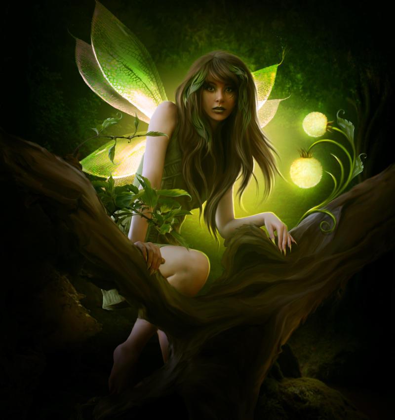 Wild nymph by ElenaDudina