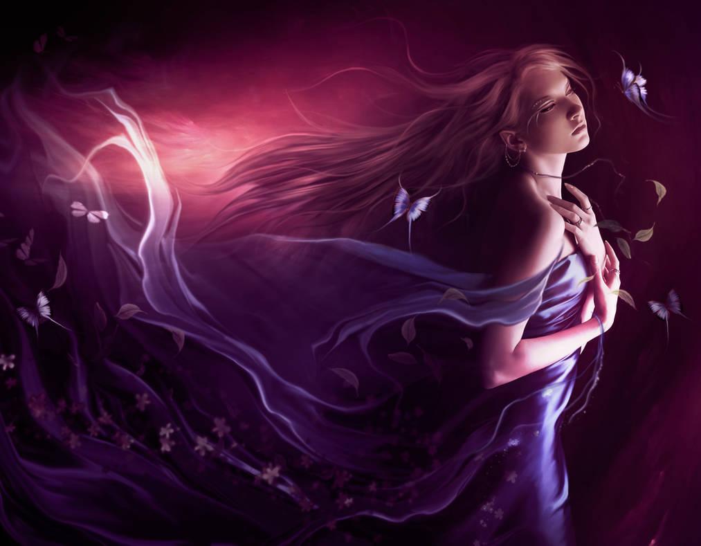 By the wind by ElenaDudina