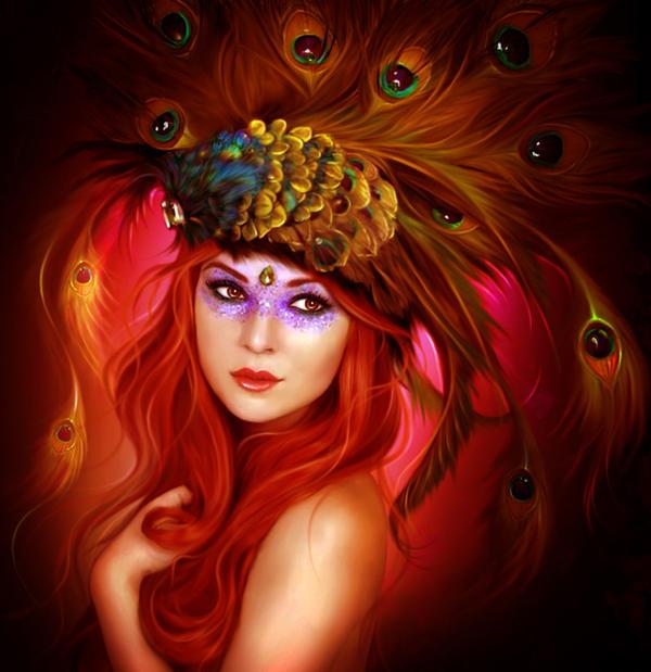 Peacock by ElenaDudina