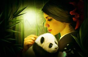 Little panda by ElenaDudina