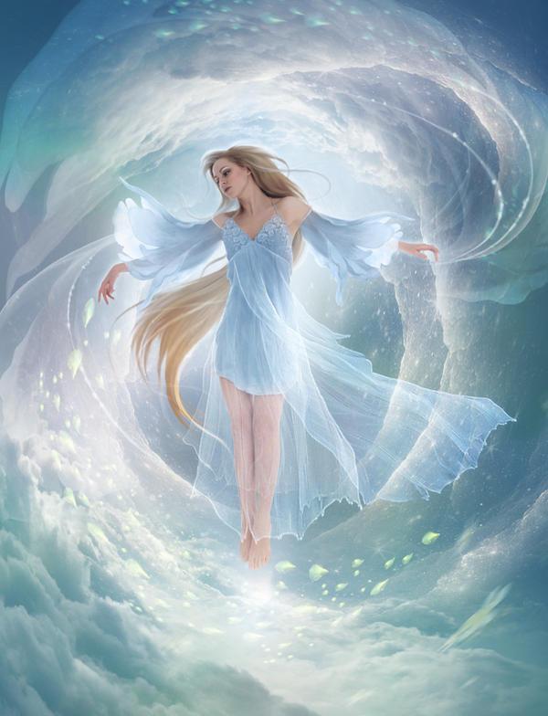 Air dress by ElenaDudina