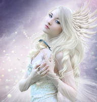 White bird by ElenaDudina