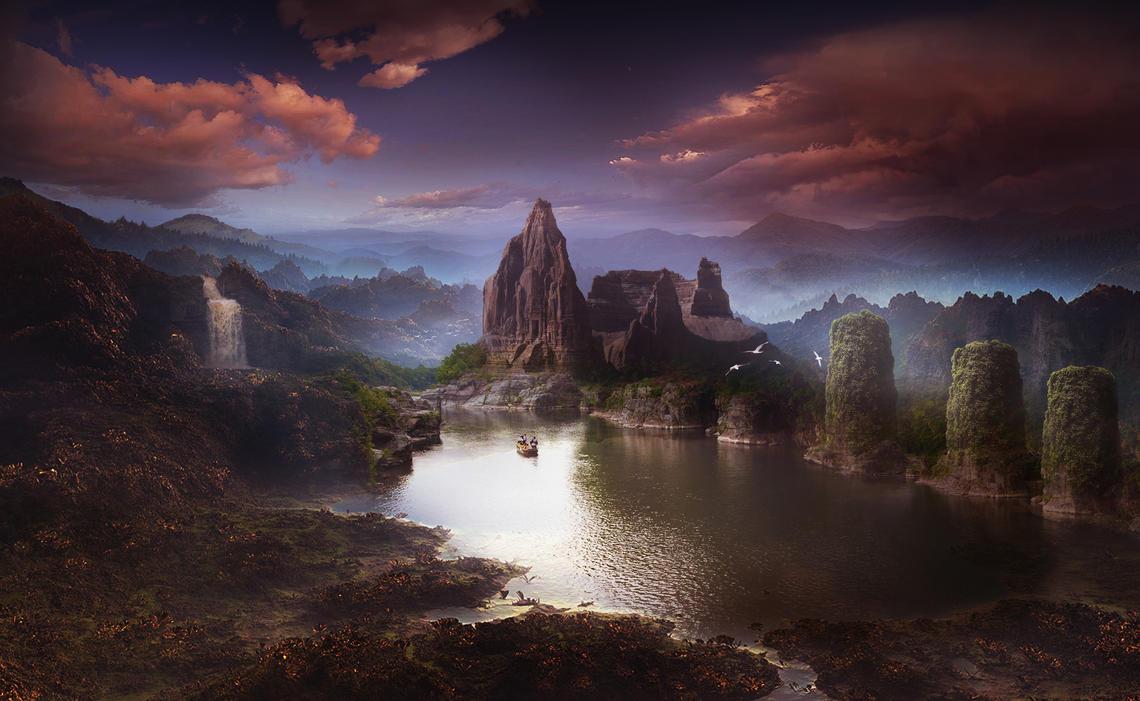 Lagoon by ElenaDudina