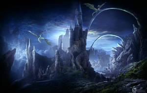 Valley of dragons by ElenaDudina