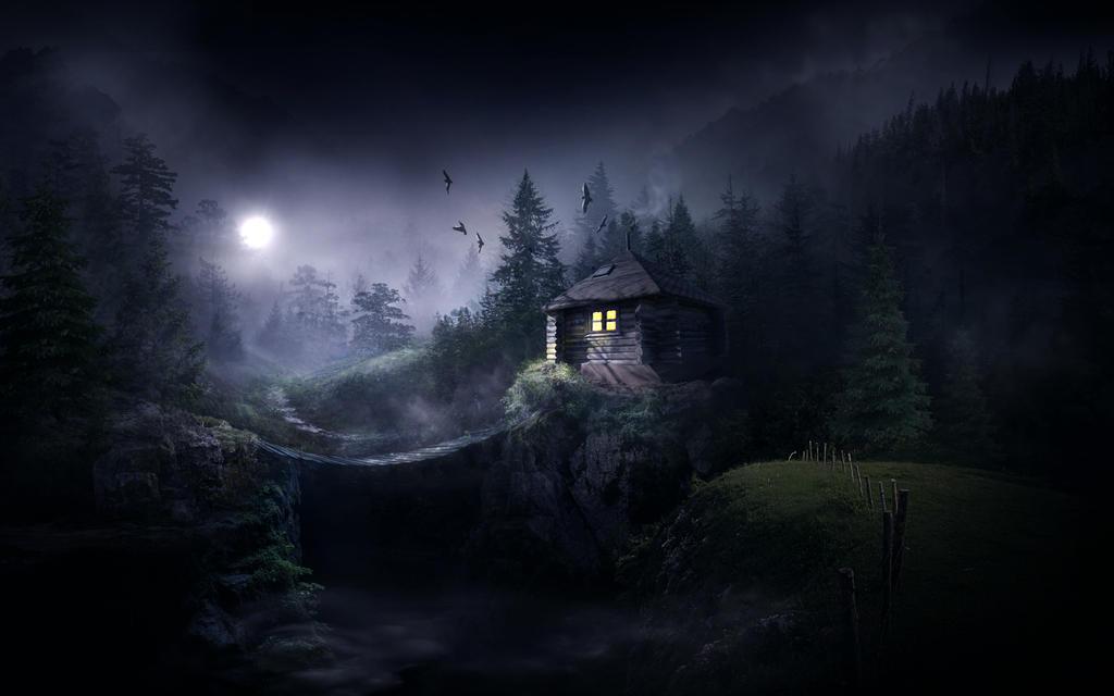 Foggy forest by ElenaDudina