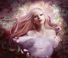 White dress by ElenaDudina