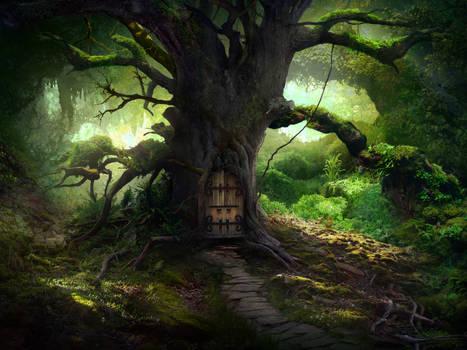 The door