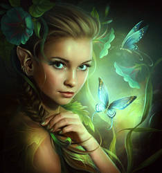 The butterfly fairy by ElenaDudina
