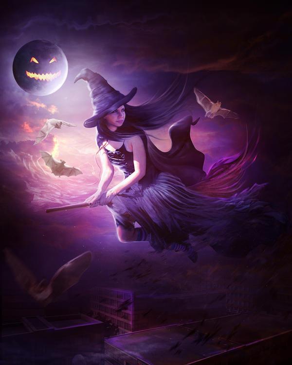 Training for Halloween by ElenaDudina