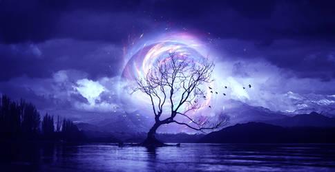 The tree 2 by ElenaDudina
