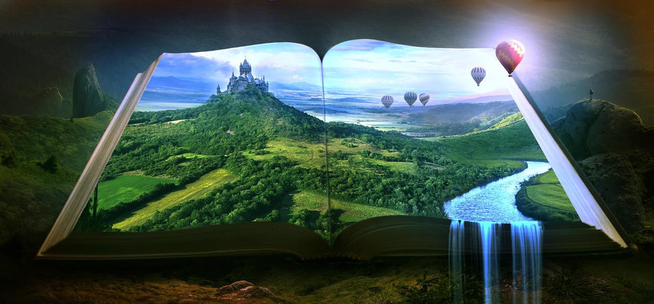 The open book by ElenaDudina
