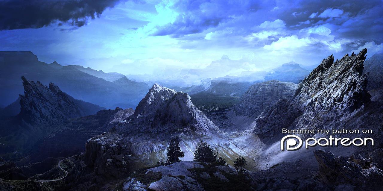 Blue mountains by ElenaDudina