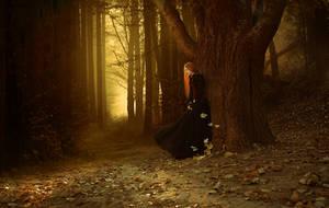 Golden leaves by ElenaDudina