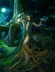 Wooden dress by ElenaDudina