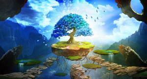 Blue tree by ElenaDudina