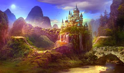 Castle on the hill by ElenaDudina