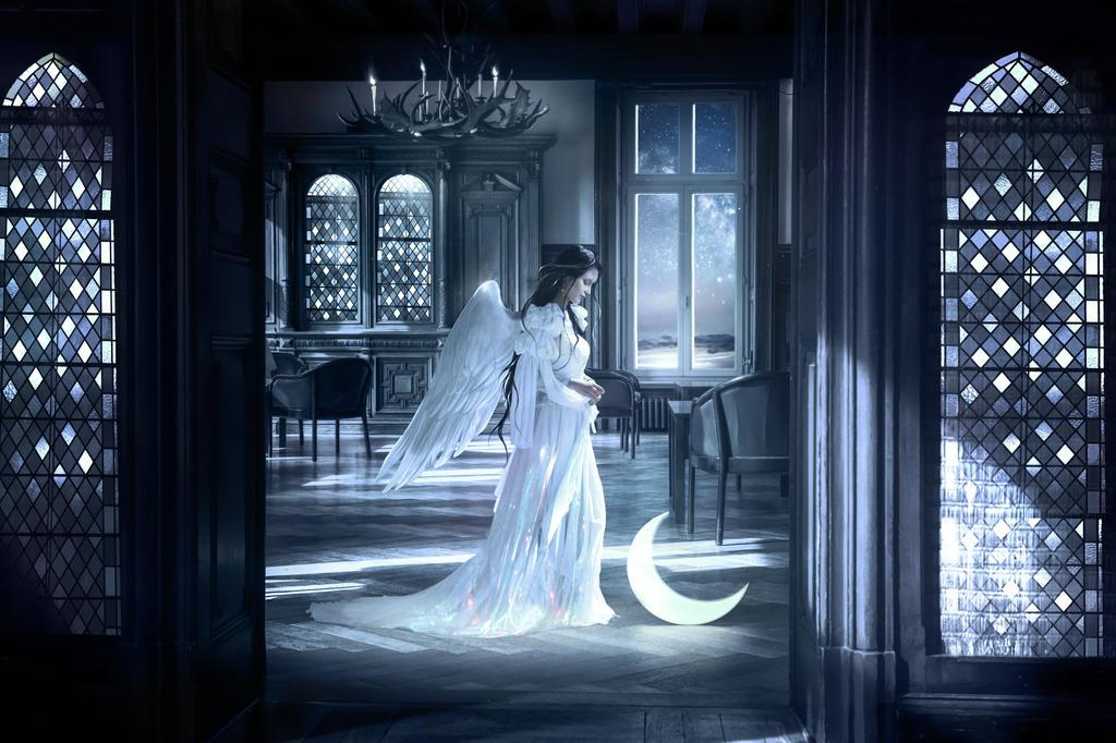 Moon angel by ElenaDudina