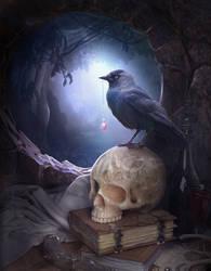 Night bird by ElenaDudina