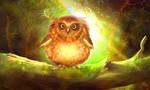 Chubby owl by ElenaDudina
