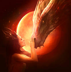 Red dragon by ElenaDudina