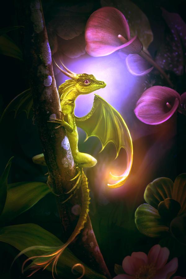 Flower dragon