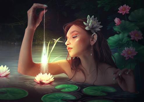Lagoon of light