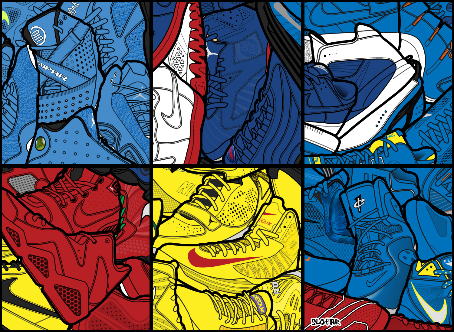 shoe collage resolution 100 zoom by slofar on deviantart