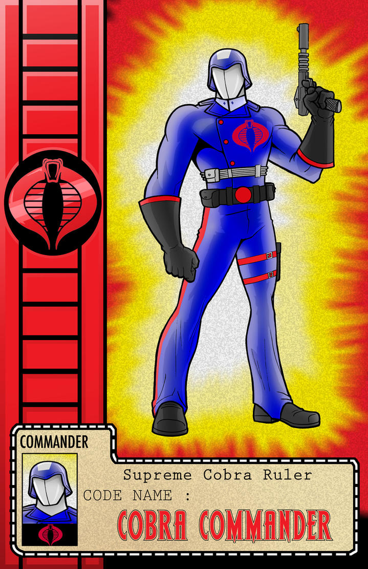 COBRA Series COBRA COMMANDER by Thuddleston