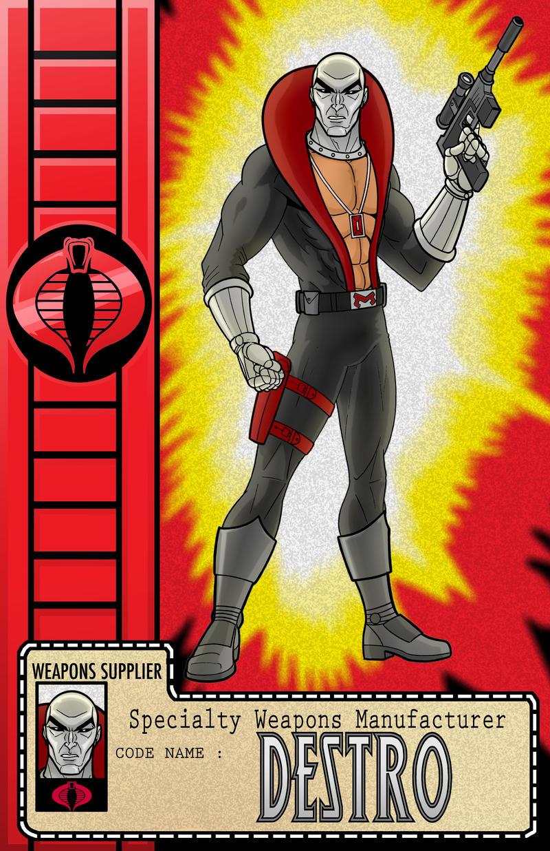 Destro Cobra Series by Thuddleston