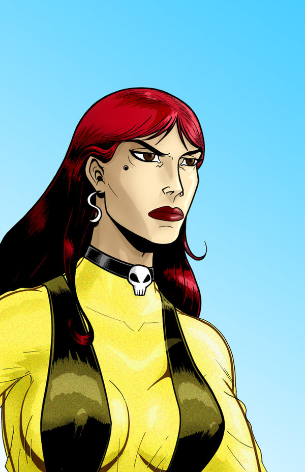 Silk Spectre WatchMen Series by Thuddleston on DeviantArt Watchmen Characters Silk Spectre