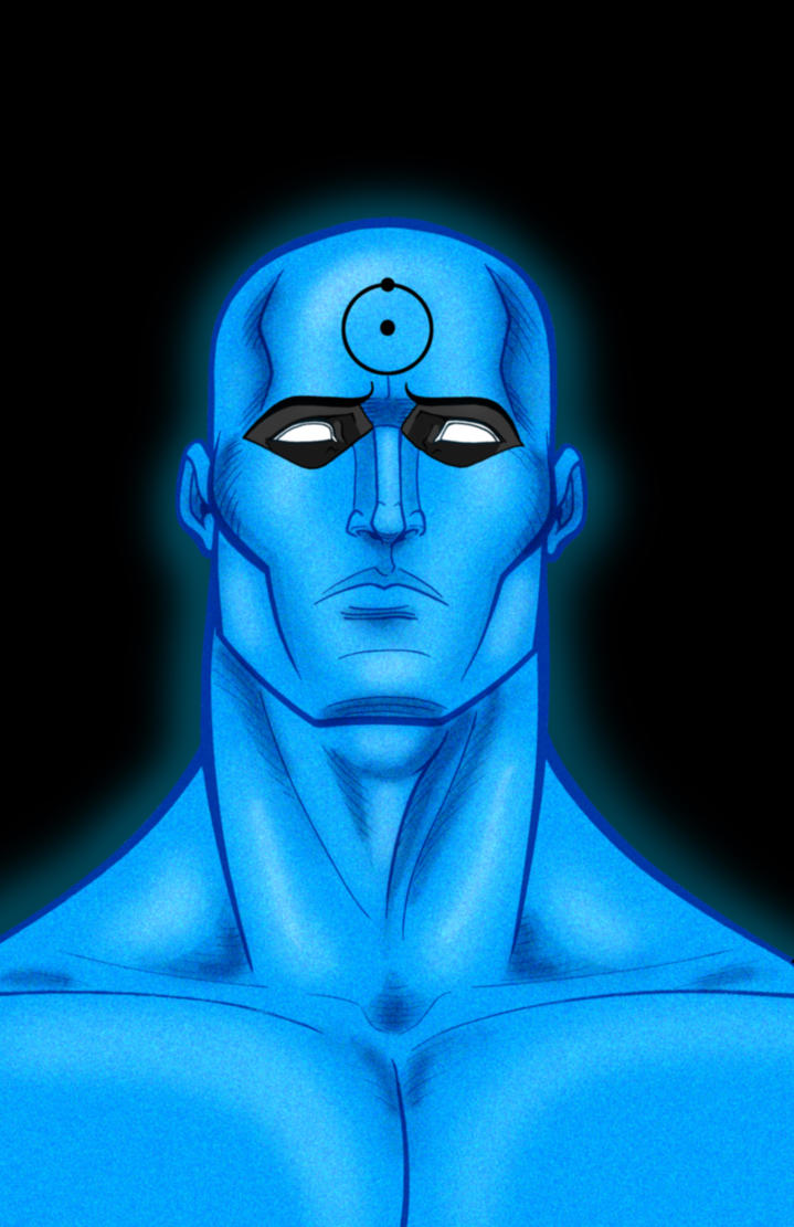 Dr. Manhattan Watchmen Series by Thuddleston