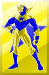 Booster Gold Prestige Series