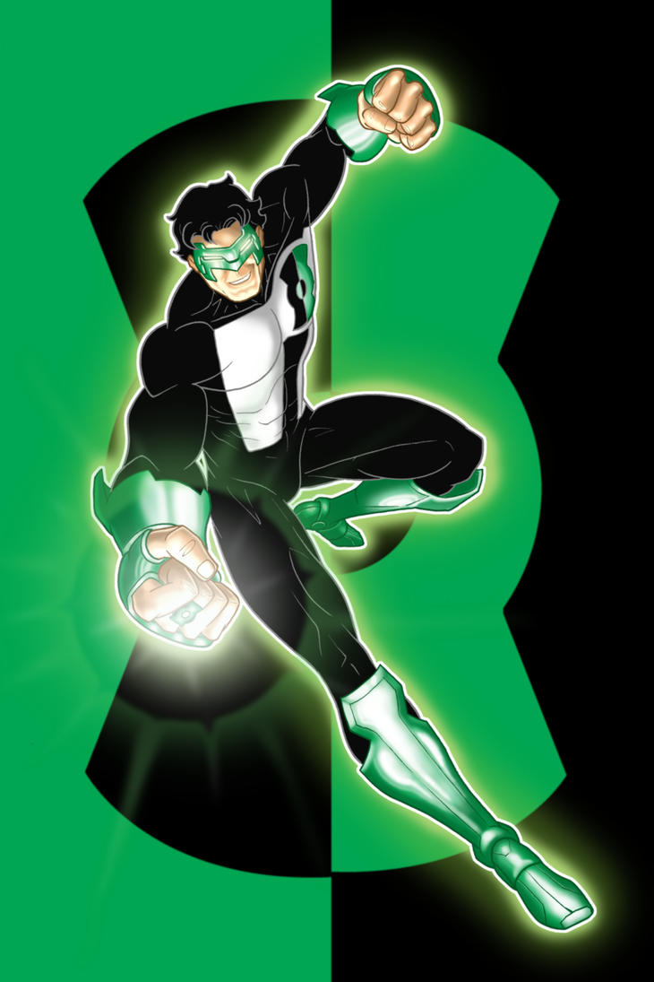 Kyle Rayner Prestige Series by ThuddlestonYoung Justice Kyle Rayner