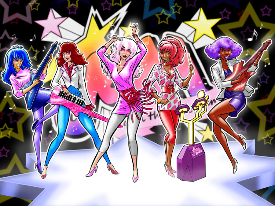 Jem and the Holograms by darkodordevic on DeviantArt