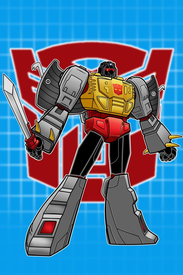 GrimLock Transformers by Thuddleston