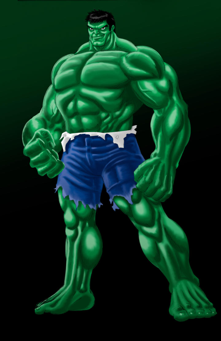 Hulk pencils color experiment1 by Thuddleston on DeviantArt